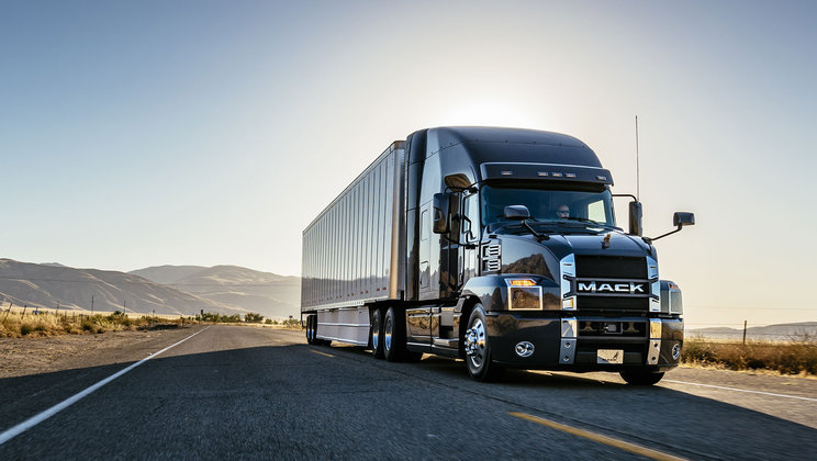 Mack Trucks will focus on fuel efficiency with the display of two Mack Anthem® models