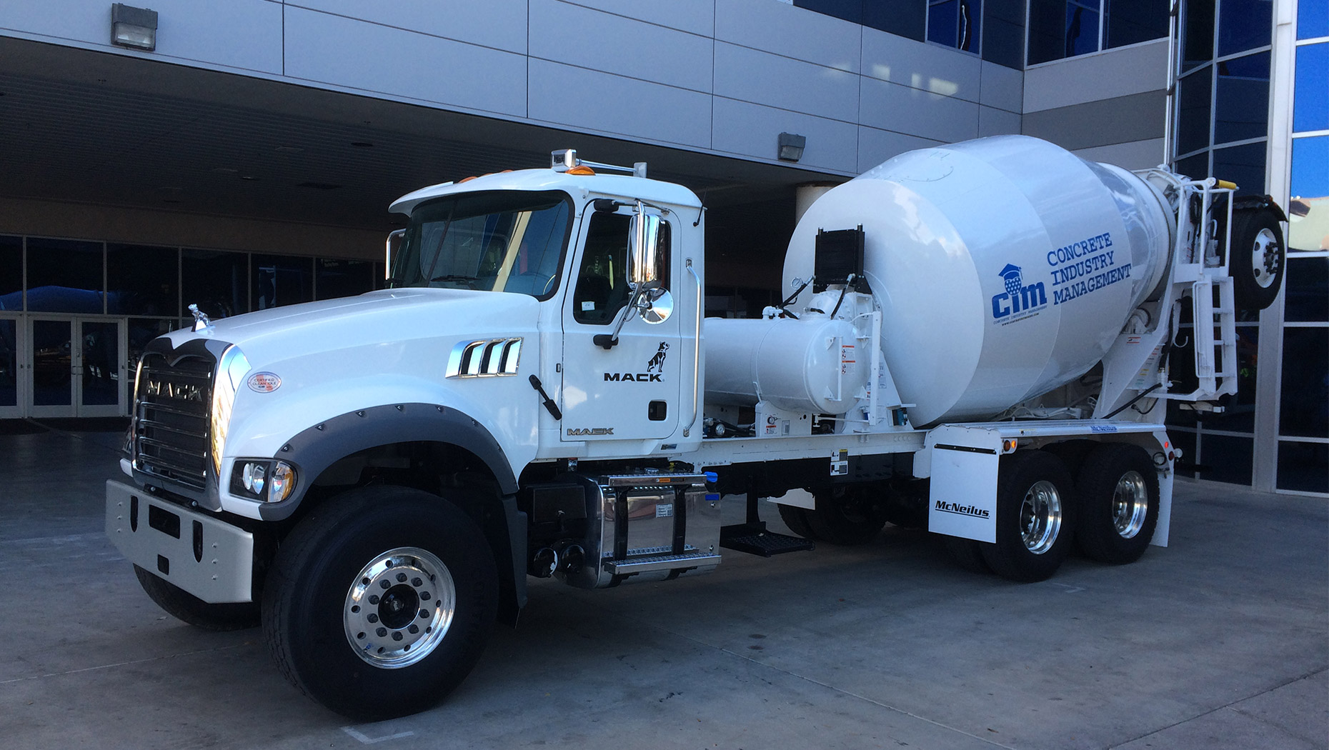 Mack Trucks Donates Mack® Granite® Model to Benefit Concrete Industry Management Programs