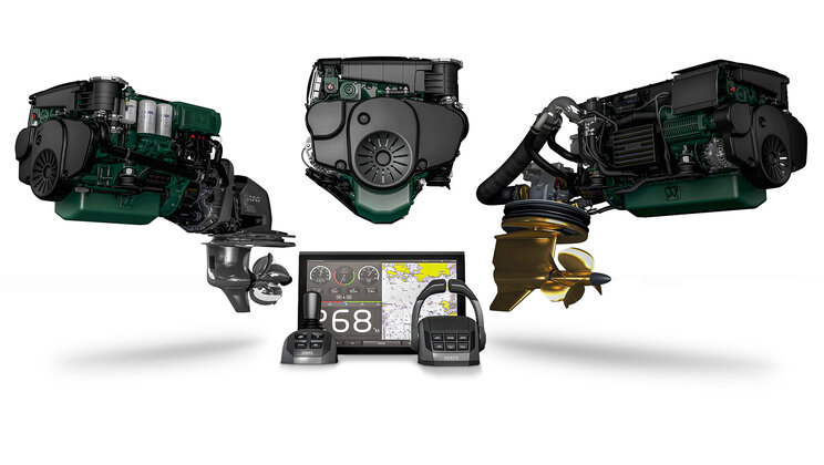 Boating Industry Recognizes Volvo Penta D4 and D6 Marine Propulsion Systems in Top Boating Products of the Year