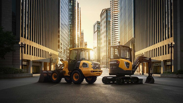 Volvo CE electric machines available for online prebooking in North America starting Aug. 19
