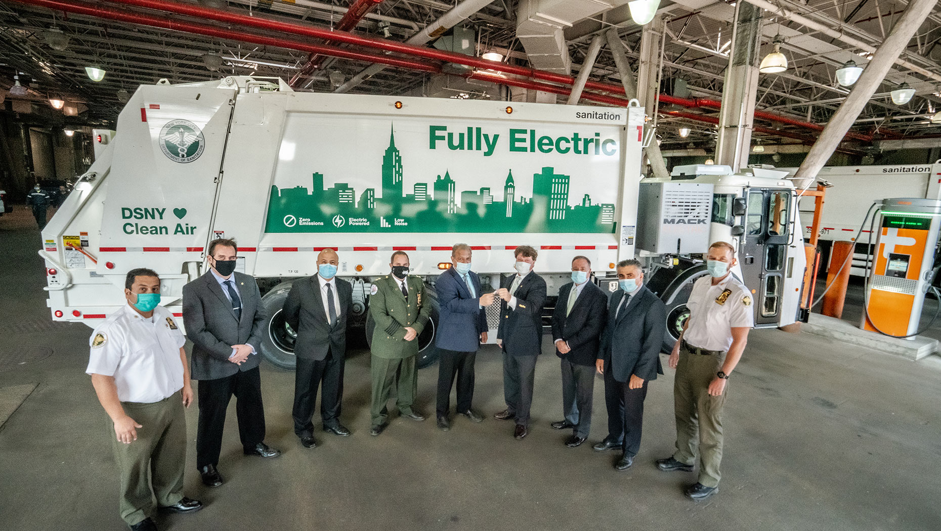 CALSTART Recognizes DSNY with Blue Sky Award for eMobility Efforts with Mack® LR Electric