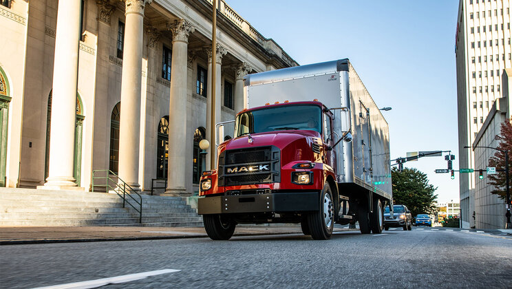 Mack Trucks Showcases the Mack® MD Series at the  Work Truck Show