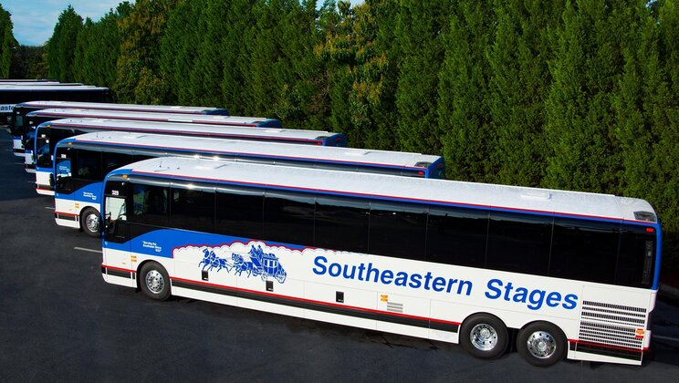 Southeastern stages invests in passenger health & safety with air purifiers from Prevost