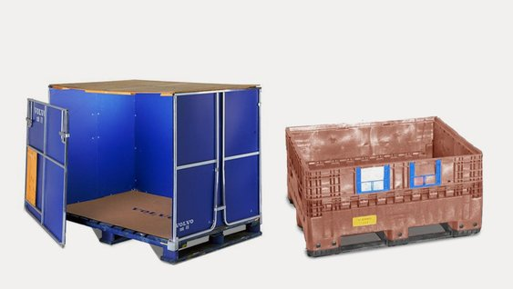 V-EMB large foldable containers