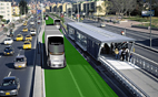 Green corridors provide for safer and more environmentally sound transports
