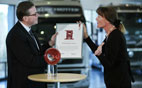 image text: Communication Award to Volvo Group