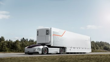 Volvo Group's new self driving truck Vera