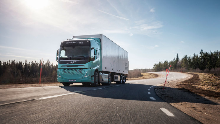 Volvo Trucks demonstrate heavy-duty electric concept trucks | Volvo Group