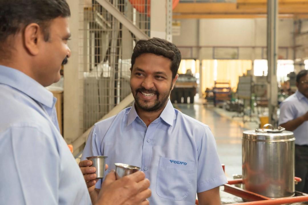 Vertrouwen is een van de kernwaarden van de Volvo Group