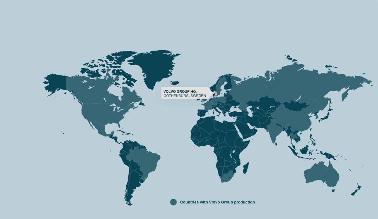 Verksamheter runt om i världen