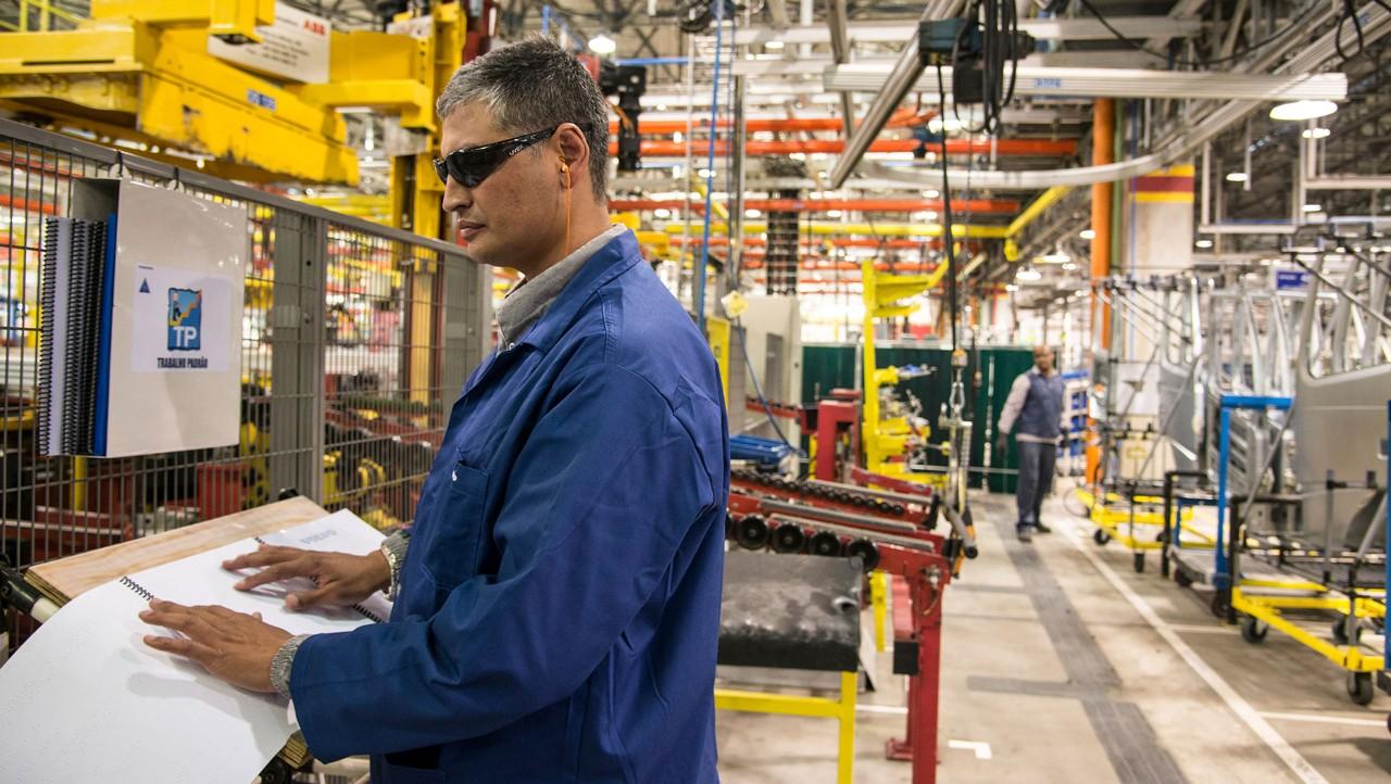 Volvokoncernen fokuserar på medarbetarnas unika förmågor