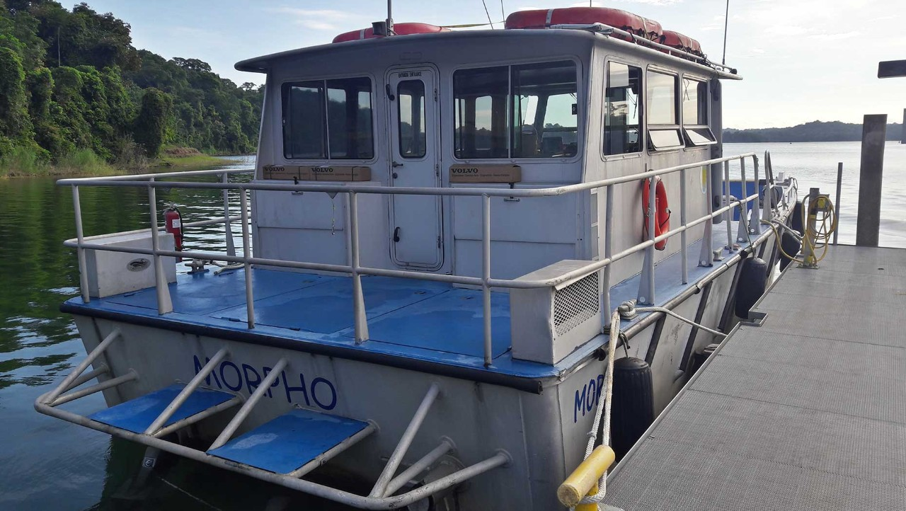 Smithsonian Tropical Research Institution Repowers Boat with Volvo Penta Diesel Sterndrives