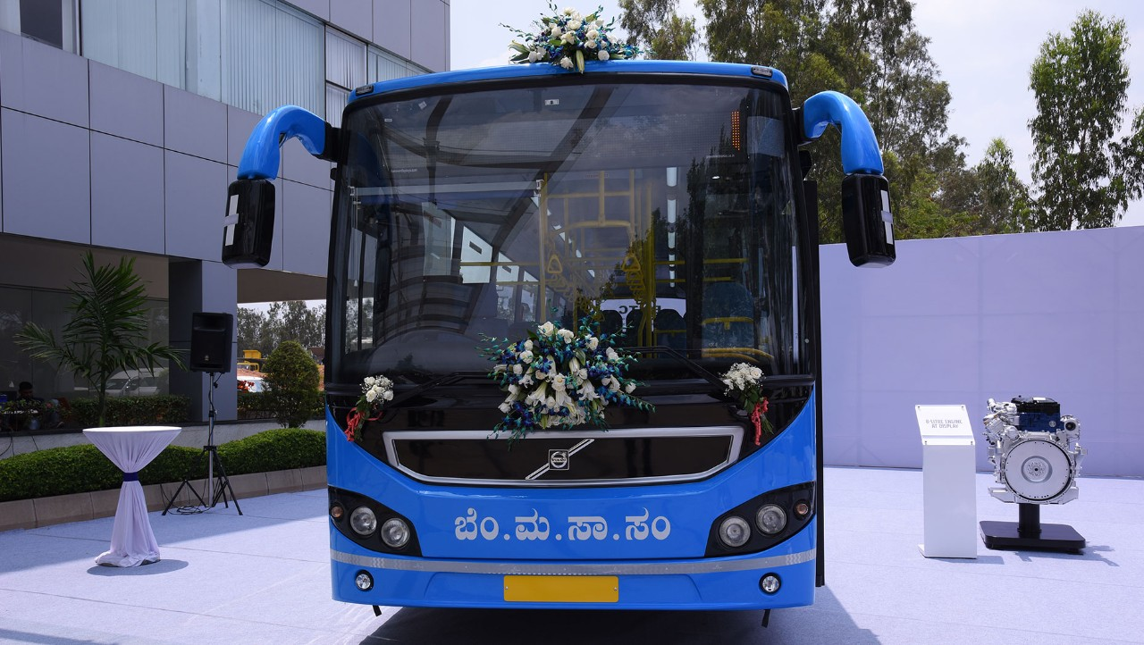 Volvo Buses rolls out next generation city bus with BMTC
