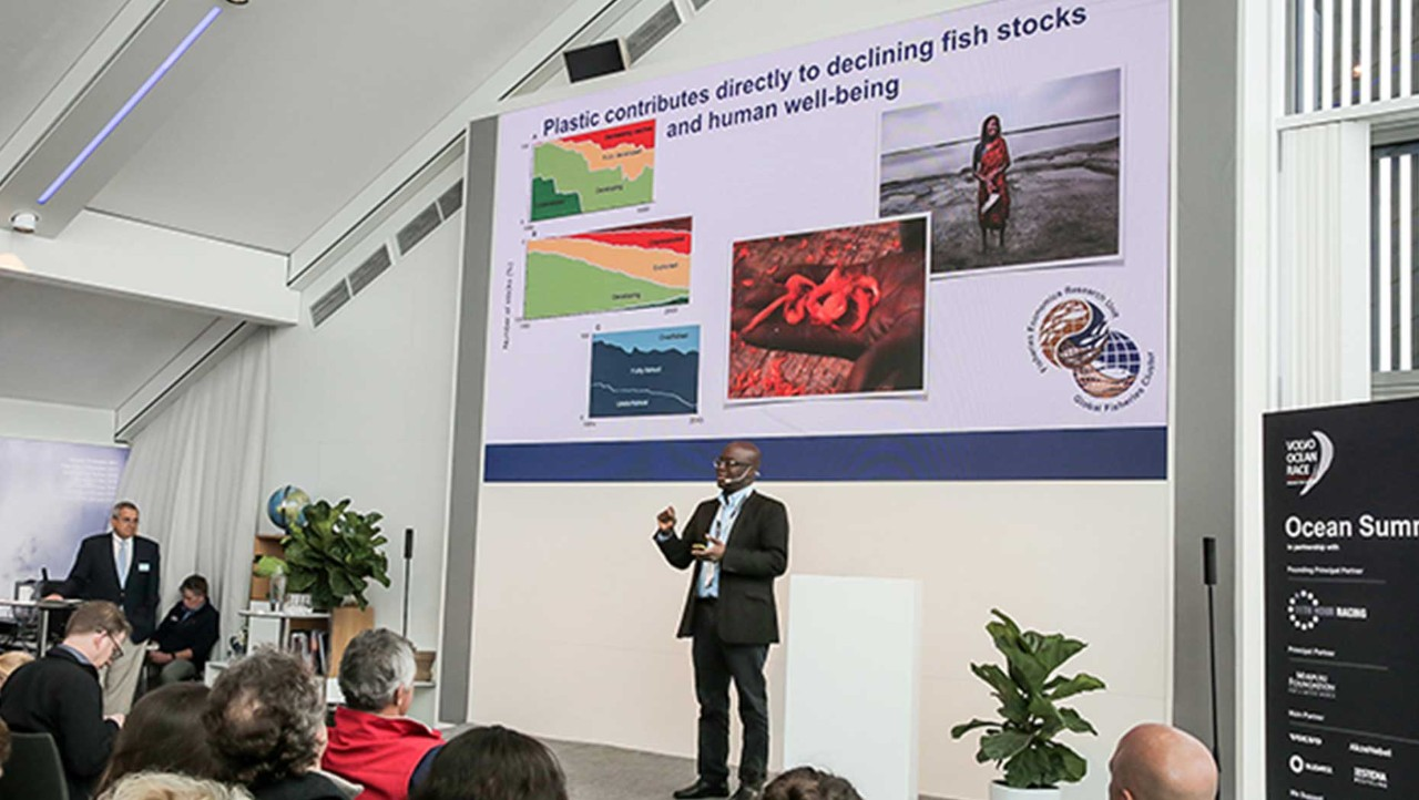 Ocean Summit Sponsored by the Volvo Group Spotlights the Problem of Plastic in the World's Oceans