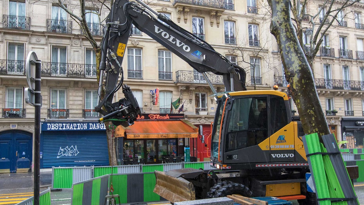 Volvo Group at the heart of Grand Paris