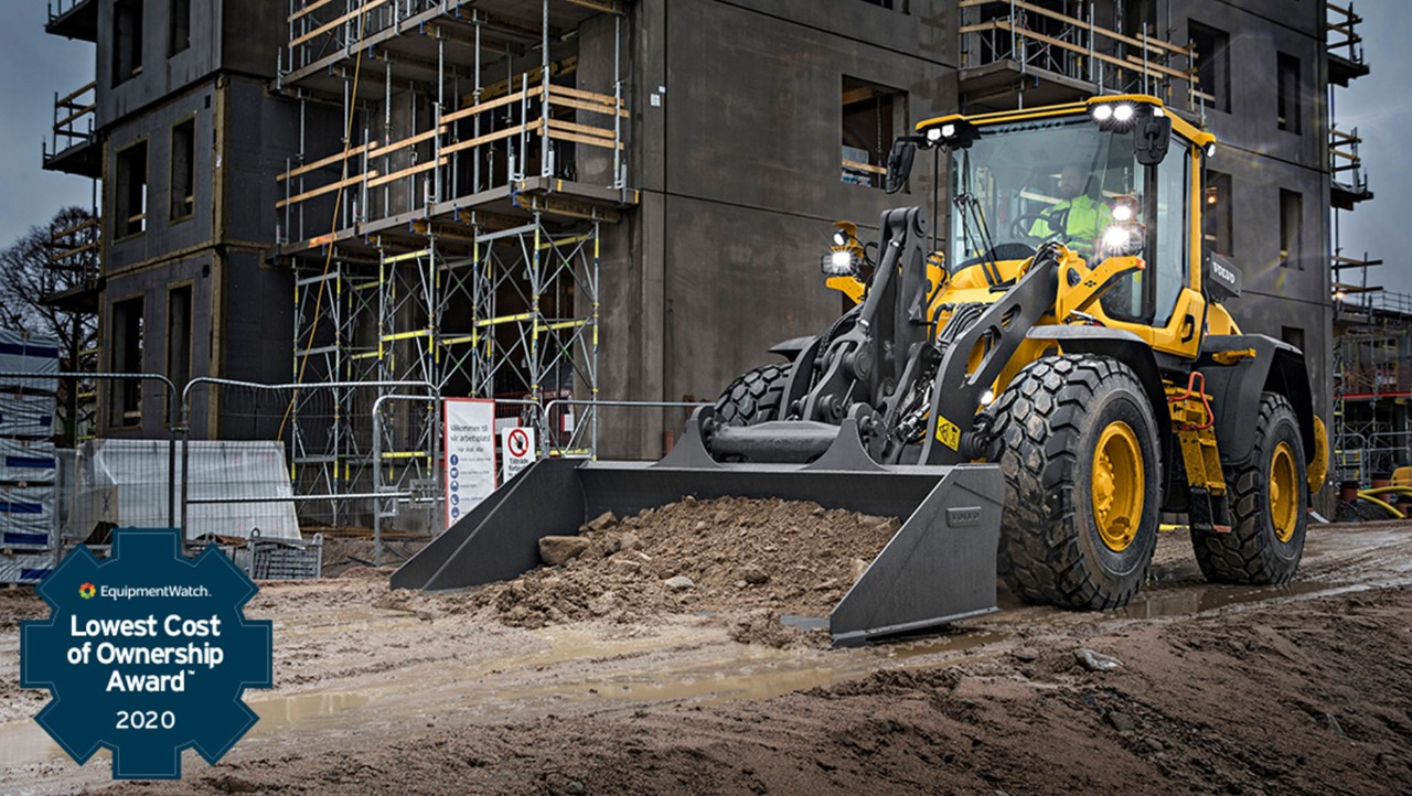 Volvo CE Machines Win Highest Retained Value and Lowest Cost of Ownership EquipmentWatch Awards