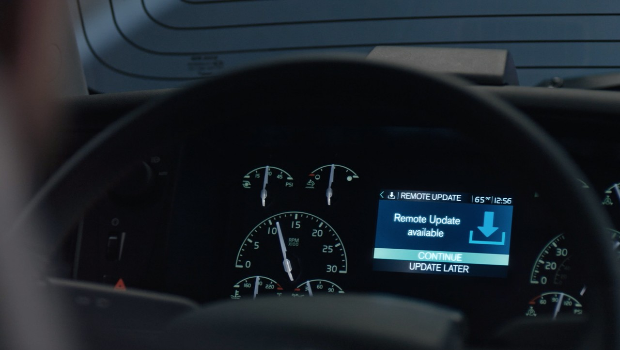 Driver Display Activation Remote Programming Feature Now Standard on All Volvo Trucks, Further Enhancing Customers' Uptime