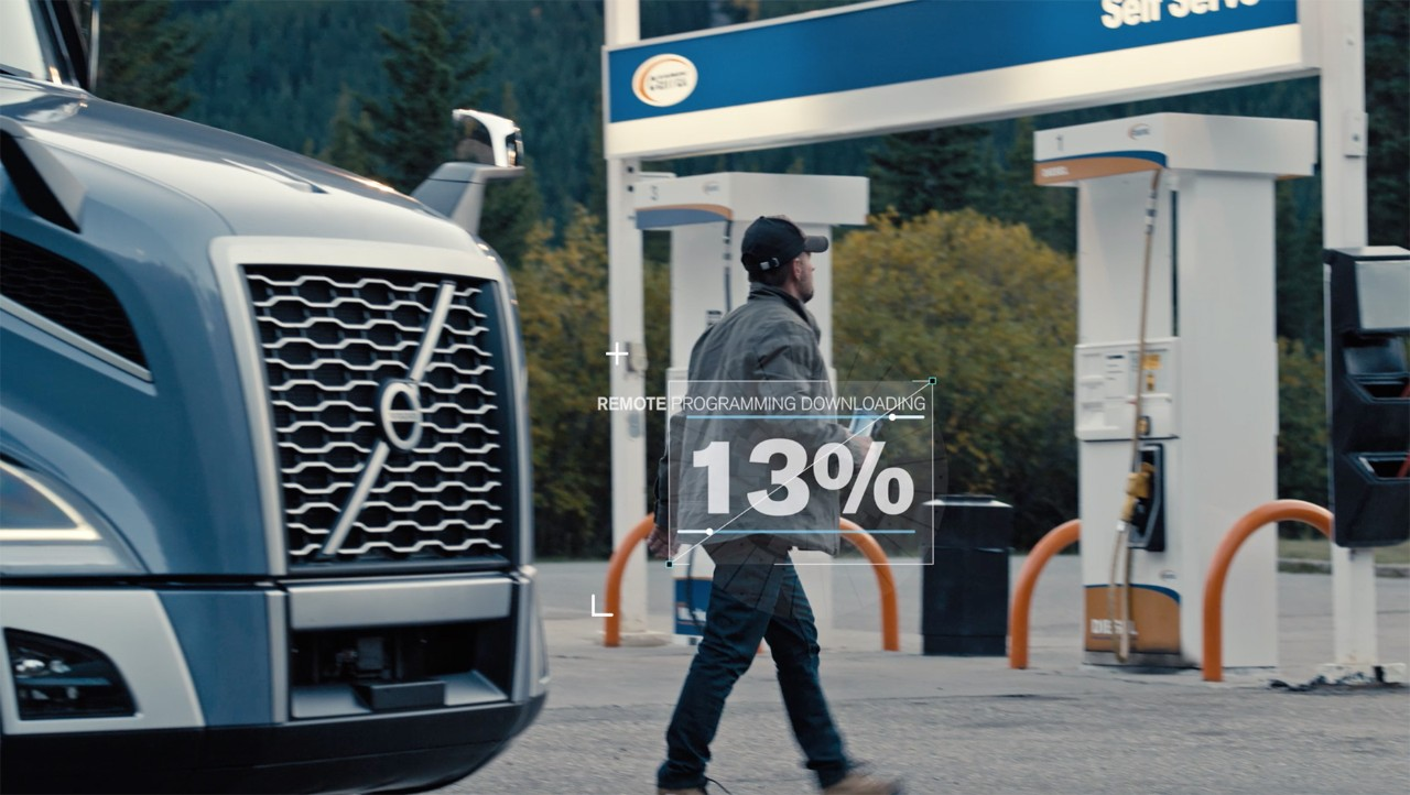 Volvo Trucks North America Announces Driver Display Activation for Remote Programming, Further Improving Uptime