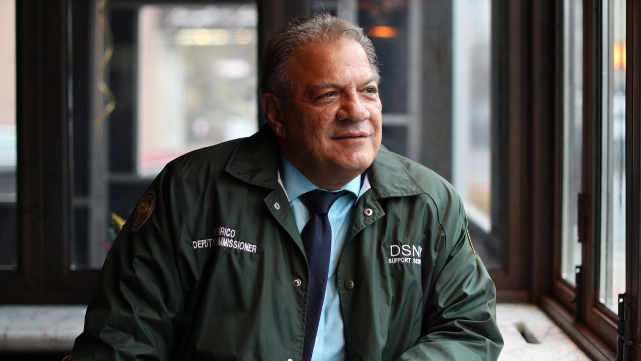 Rocco DiRico, deputy commissioner for the City of New York Department of Sanitation