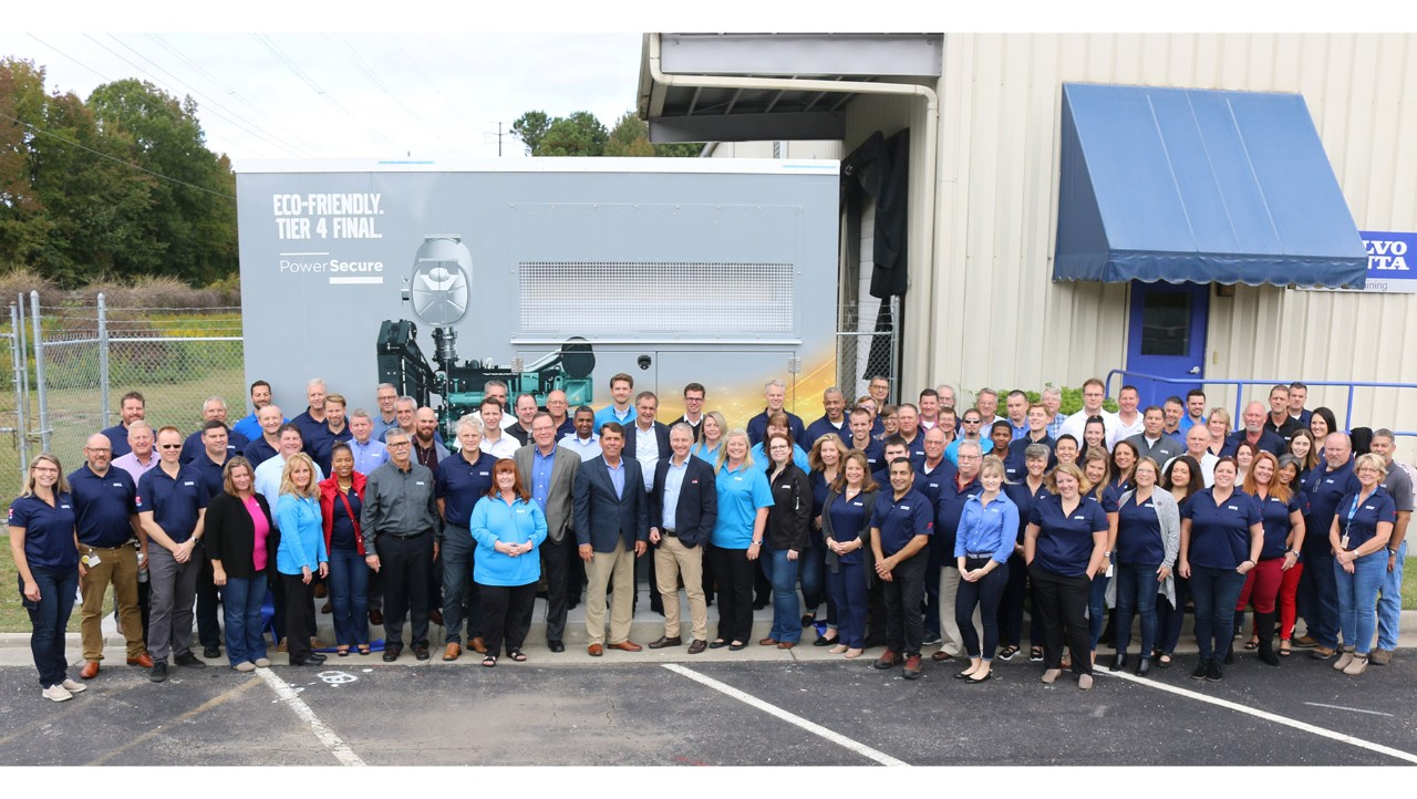 94% of Volvo Penta employees, headquartered in Chesepeake, Virgina, say it is a great place to work