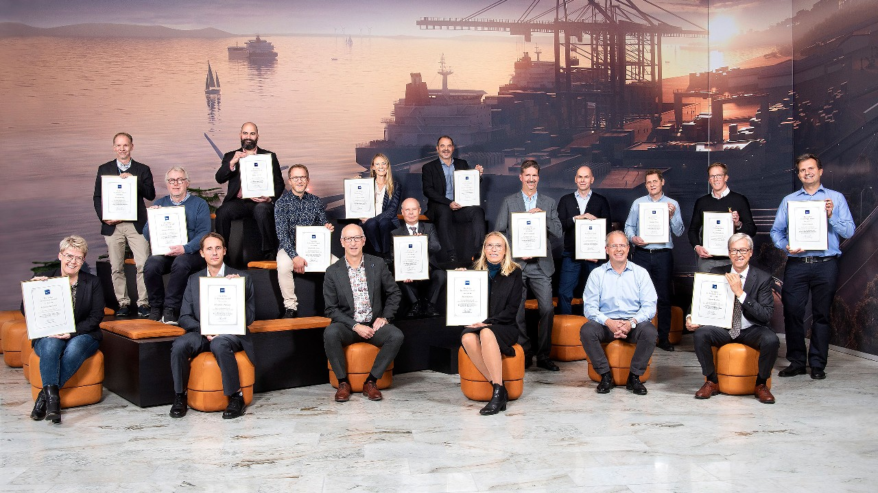 The winners of Volvo Technology Award 2020