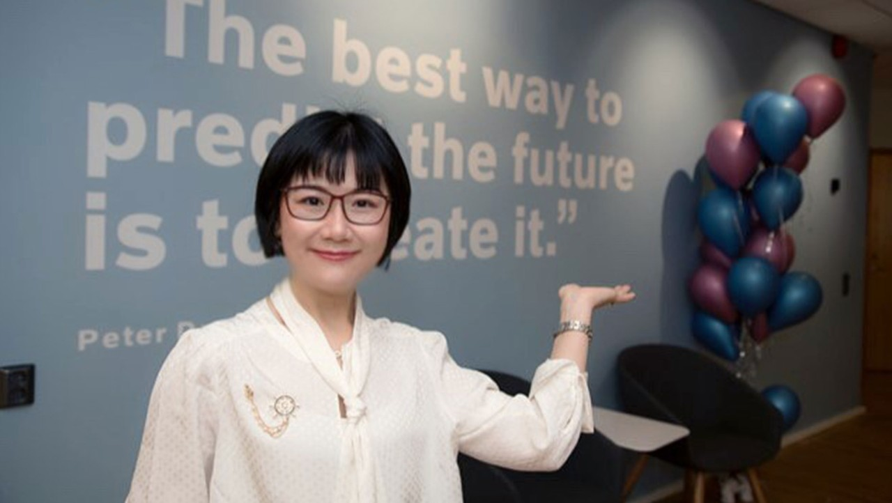 Emily Xu from Volvo Group Connected Solutions