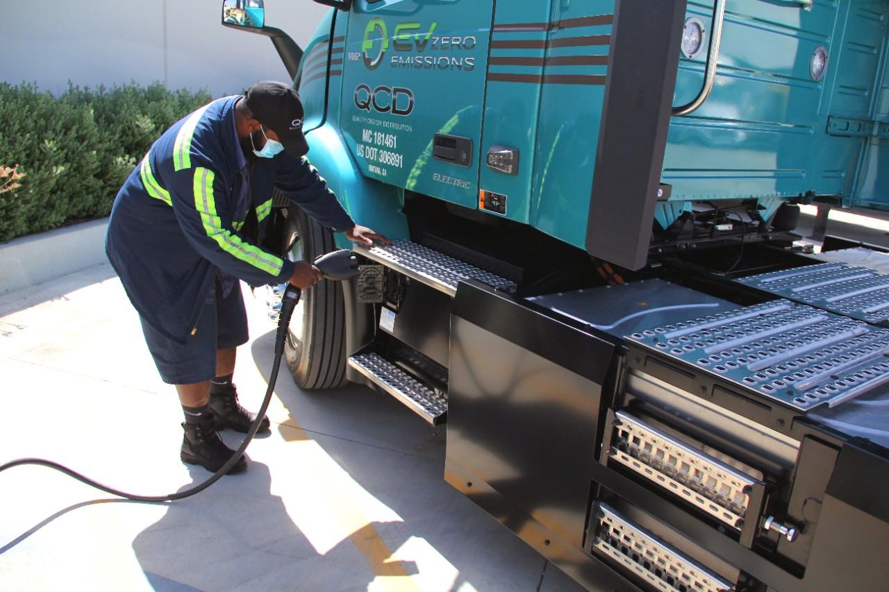 Volvo VNR Electric trucks