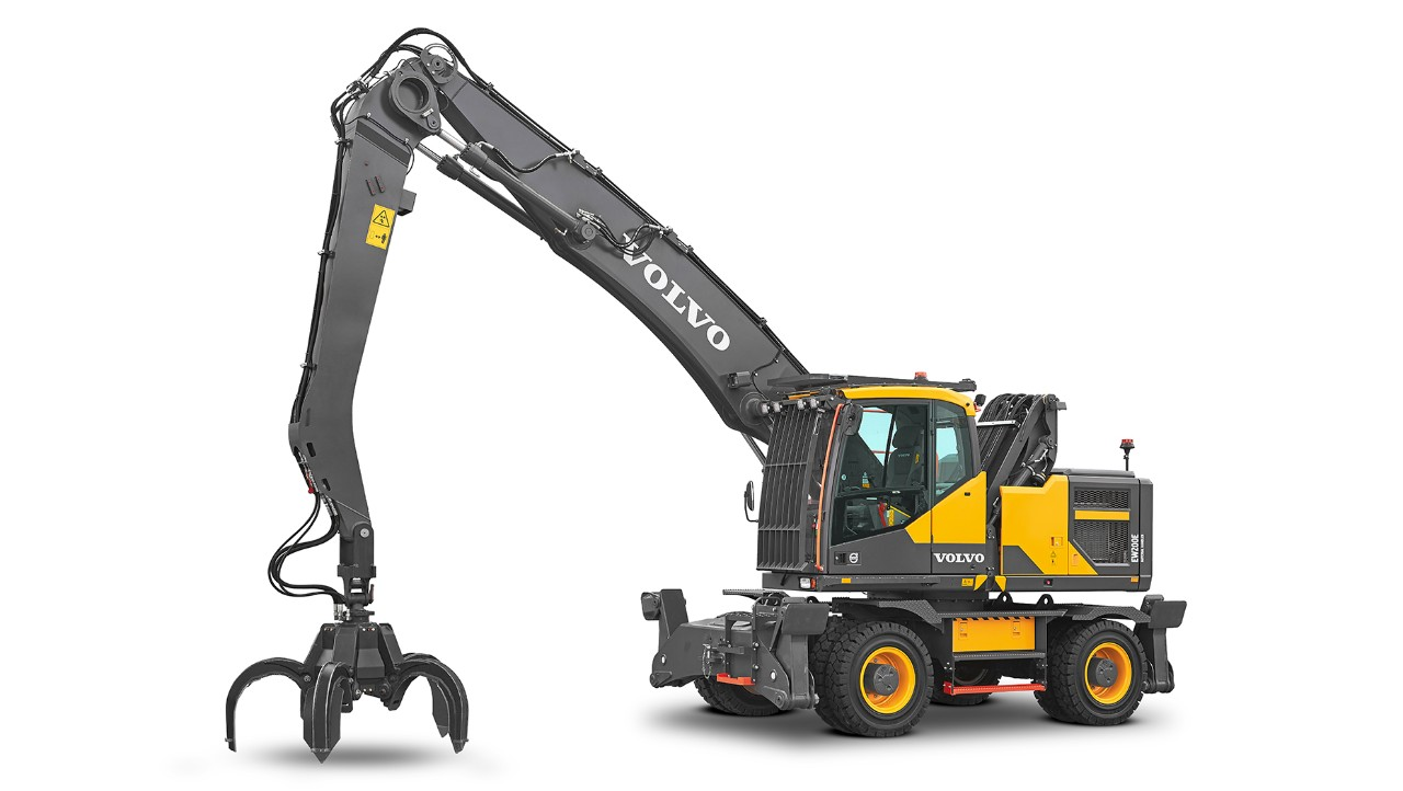 Volvo CE Expands Material Handler Lineup with New Model and New Options