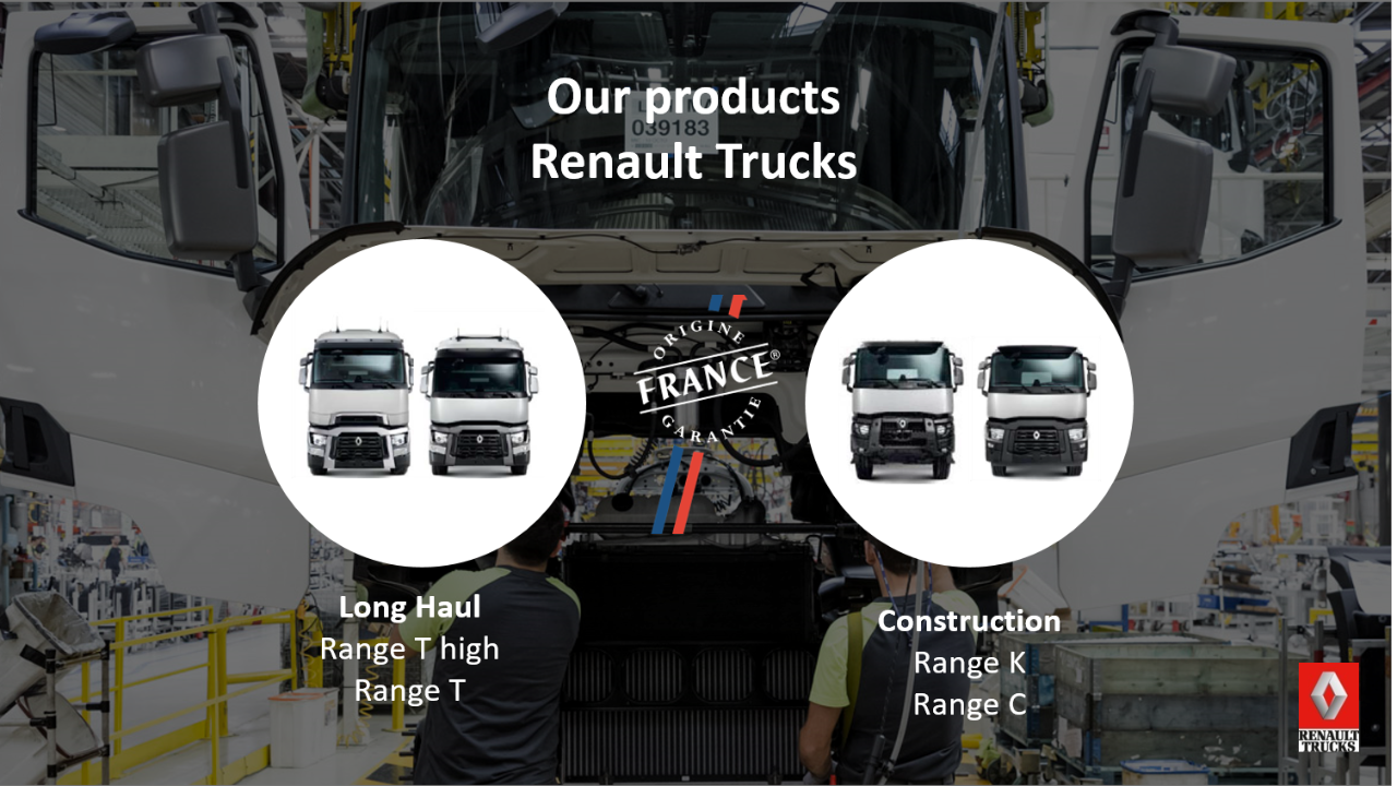 Renault Trucks Bourg en Bresse assembly plant