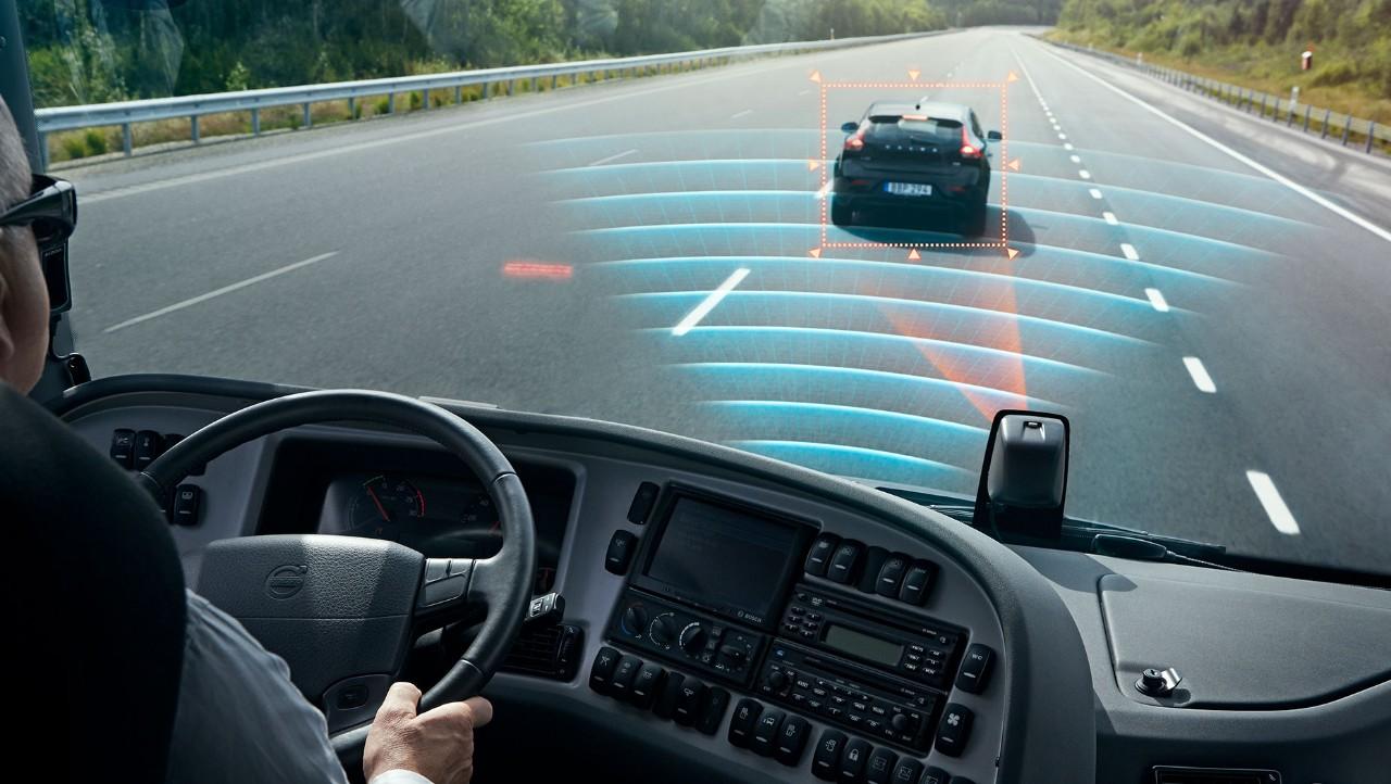 Volvokoncernens produkter | Fortsatt utveckling av avancerade sensorer och tekniker.