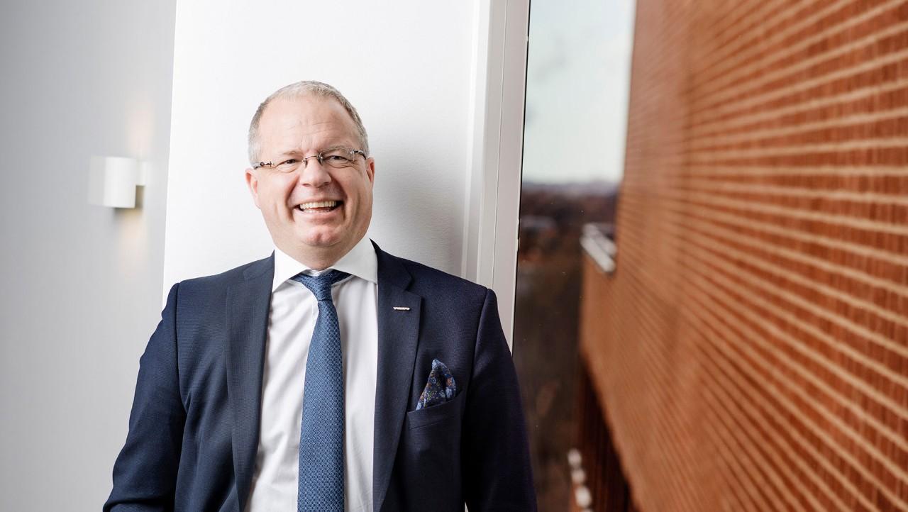 Martin Lundstedt, VD för Volvokoncernen